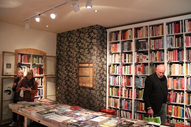 Studietur til Goldhahn und Samson_bibliotek med kogebøger