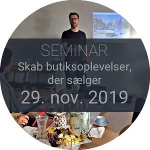 Skab butiksoplevelser, der sælger_Seminar