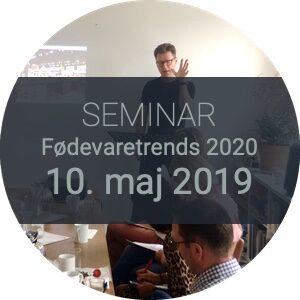 Seminar Fødevaretrends 2020 10. maj