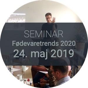 Seminar Fødevaretrends 2020 24. maj