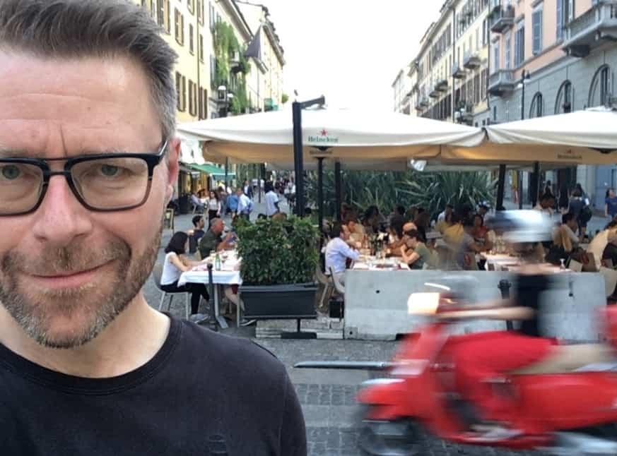 Studietur til Milano med Flemming Birch