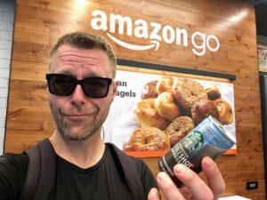 Smil til Amazons kamera